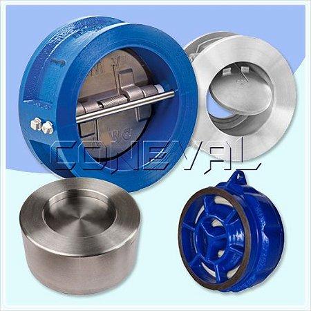 Válvula de Retenção Portinhola e tipo Disco modelo Wafer