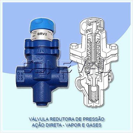 Válvula Redutora de Pressão para Vapor e Ar - BRV2S