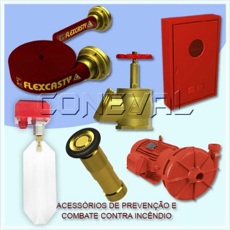 Acessórios para Combate e Prevenção contra Incêndios