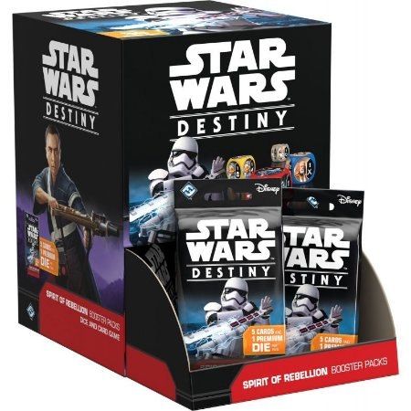 Star Wars Destiny: Espírito da Rebelião - Box Fechado (36 boosters)