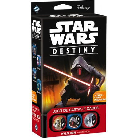 Star Wars: Destiny - Pacote Inicial - Kylo Ren