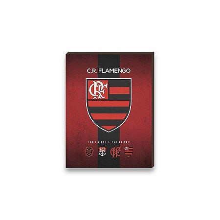 Quadro decorativo Time Flamengo mod. 01 [Box de madeira]