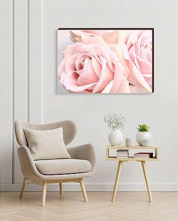 Quadro decorativo Rosas [BoxMadeira]