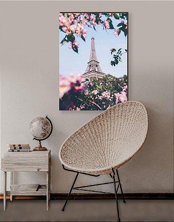 Quadro decorativo Torre Eiffel Vertical Florida [BoxMadeira]