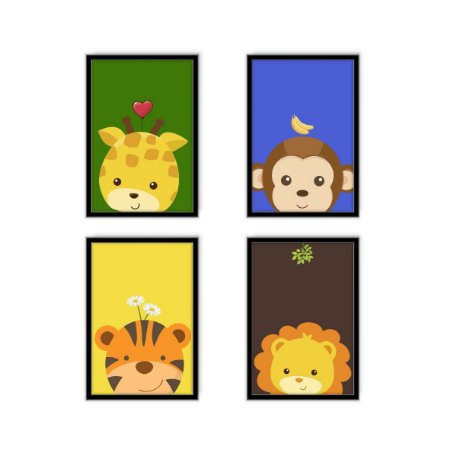 Safari Baby [MolduraVidro]
