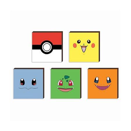 Kit de quadros infantil Pokemon [BoxMadeira]