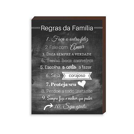 Regras da Família [BoxMadeira]