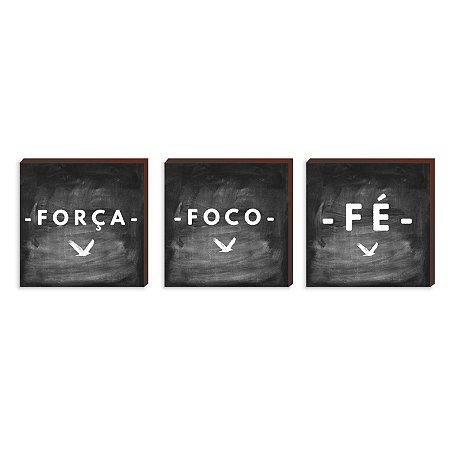 Trio - Foco, Força e Fé [BoxMadeira]