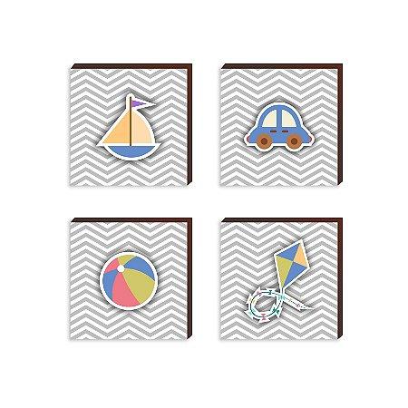Quarteto Menino [BoxMadeira]
