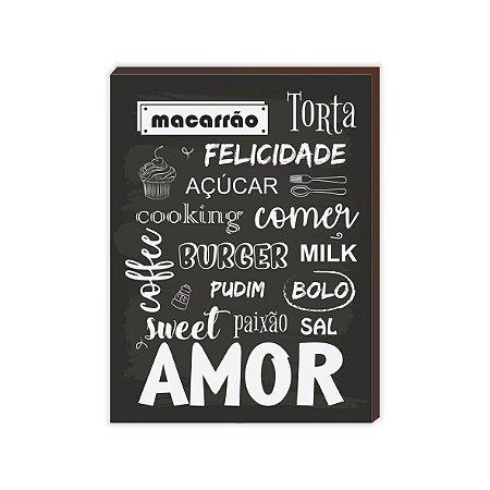 Macarrão, torta e felicidade ... [BoxMadeira]