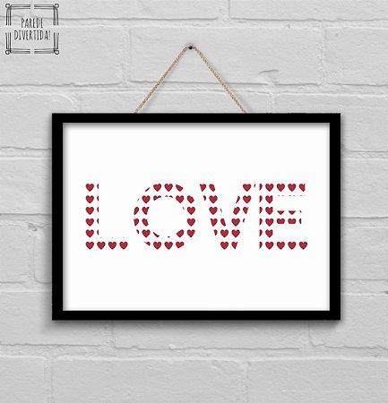 Love Coração [Moldura]