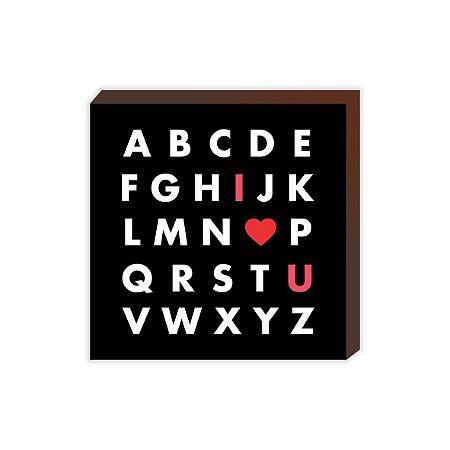 Letras I LOVE YOU [BoxMadeira]