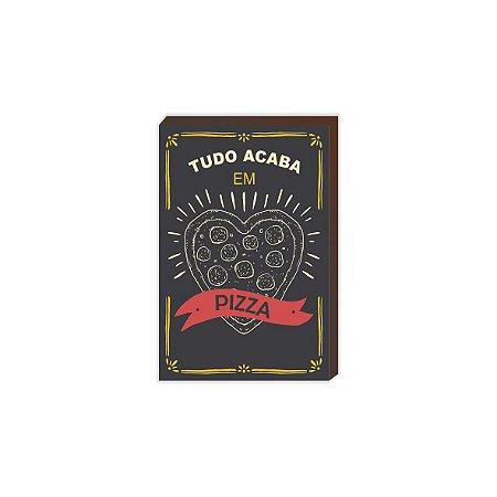 Tudo acaba em pizza [BoxMadeira]