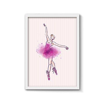 Bailarina {2} [MolduraVidro]