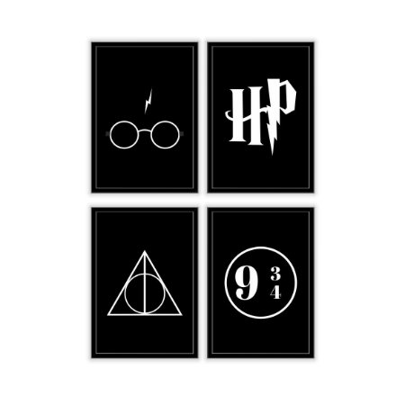 Kit Harry Potter [MolduraVidro]