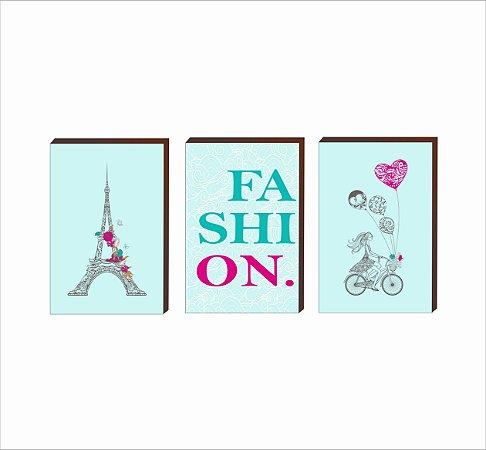 Trio Paris Fashion Tiffany [BoxMadeira]