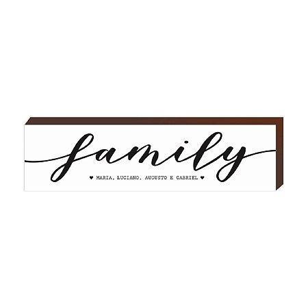 Box Caixinha Family  [BoxMadeira]