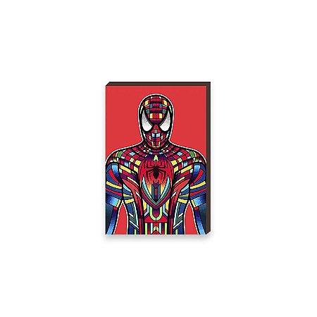 Quadro Homem Aranha Super Heróis da Marvel Pop Art [BoxMadeira]
