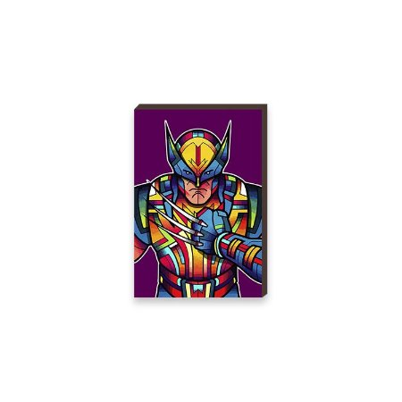 Quadro Wolverine Super Heróis da Marvel Pop Art [BoxMadeira]