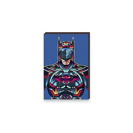 Quadro Batman Super Heróis DC Comics Pop Art [BoxMadeira]