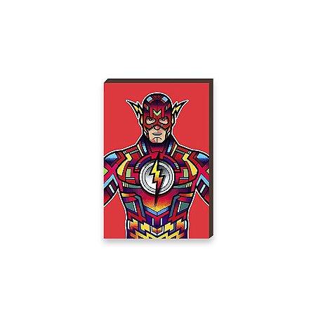 Quadro The Flash Super Heróis DC Comics Pop Art [BoxMadeira]