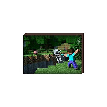 Quadro Minecraft Modelo2 [BoxMadeira]
