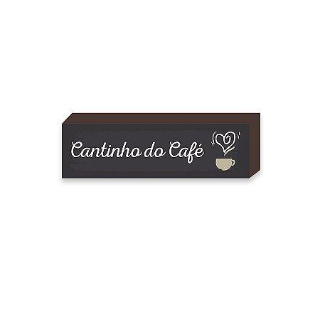 Caixinha Cantinho do café [BOX DE MADEIRA]