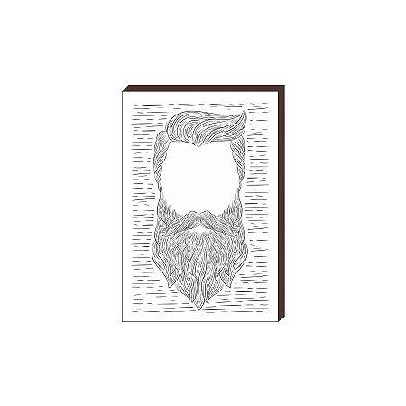 Quadro Decorativo  Barbearia Barber Shop Mod. 03 [BoxMadeira]