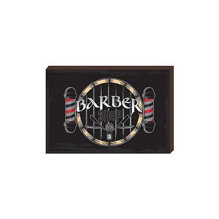 Quadro Decorativo  Barbearia Barber Shop Mod. 04 [BoxMadeira]