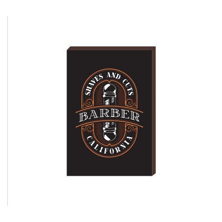 Quadro Decorativo  Barbearia Barber Shop Mod. 10 [BoxMadeira]