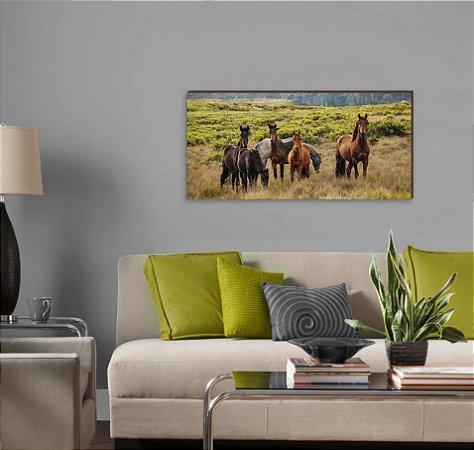 Quadro decorativo paisagem Cavalo mod 02 [BoxMadeira]