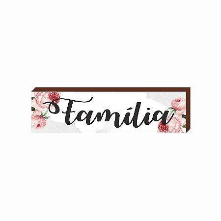 Caixinha Família Floral [BOX DE MADEIRA]