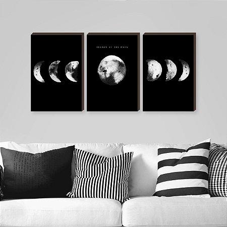Trio Fases da Lua Preto [BoxMadeira]