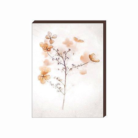 Quadro decorativo Flor Mod.02 [Box de Madeira]