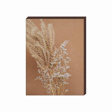 Quadro decorativo Flor Mod.03 [Box de Madeira]