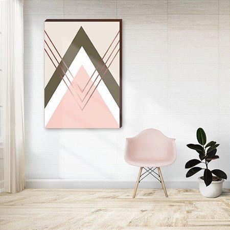 Quadro decorativo Geométrico [Box de Madeira]
