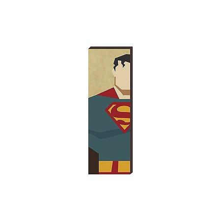 Super Heróis DC 20x60 - Super Homem [box de madeira]