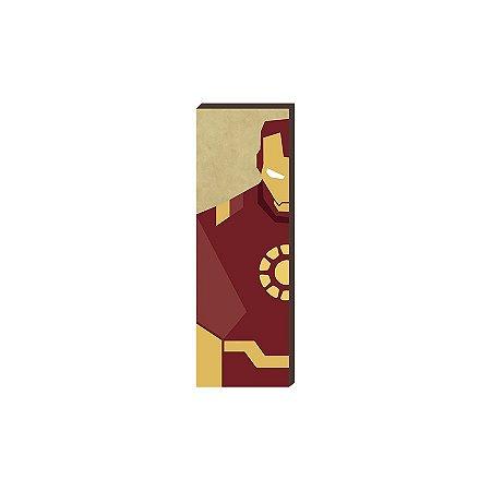 Super Heróis Marvel 20x60 - Homem de Ferro [box de madeira]