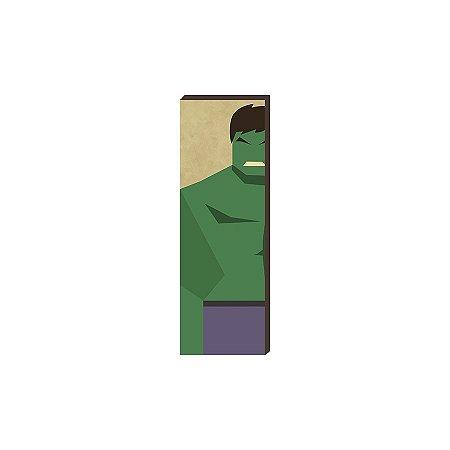 Super Heróis Marvel 20x60 - Hulk [box de madeira]