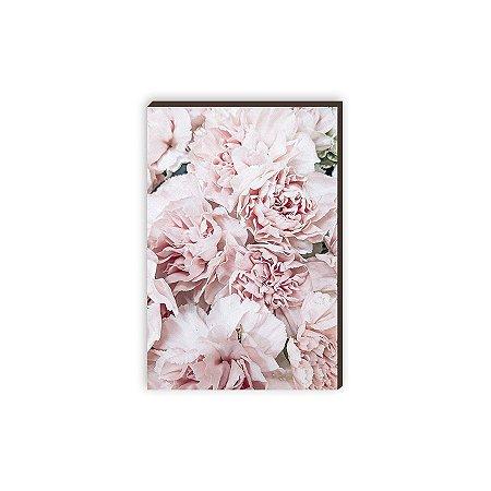 Quadro decorativo  Flores mod.02 [Box de Madeira]