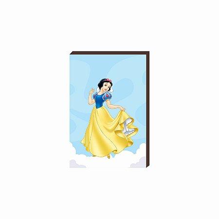 Quadro decorativo Branca de Neve- Disney [Box de Madeira]