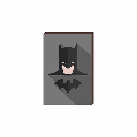 Quadro decorativo Super Herói Batman- DC [Box de Madeira]