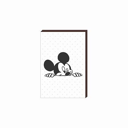Quadro decorativo Mickey [Box de Madeira]