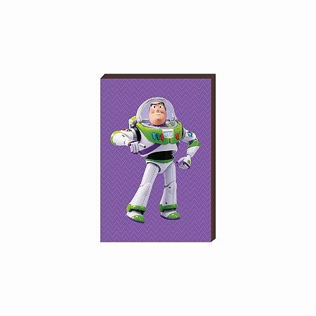 Quadro decorativo Buzz - Toy Story [Box de Madeira]