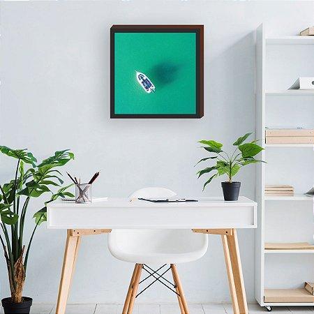 Quadro decorativo Barco- Casa Panda [BoxMadeira]