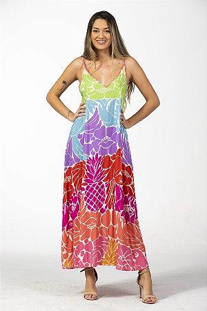 Vestido Cropped Estampado Desejo Gráfico Farm