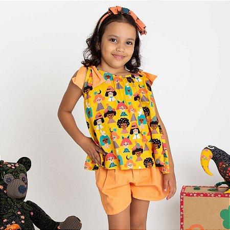 5c9fbf3fff BLUSA INFANTIL MALHA FOLIA FABULA - GARDÊNIA STORE - Gardênia Store ...