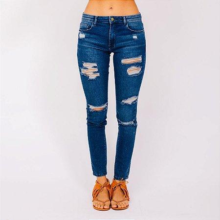 Calça Skinny Jeans Farm