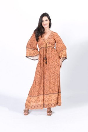 Vestido Cropped Estampa Miquinhos Farm
