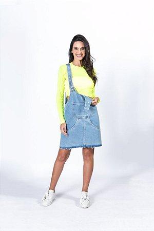 Vestido com Bolso Refarm Jeans Farm